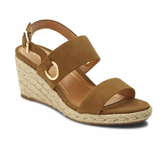 d43da0a2ca6 Get the fit you want! Our Vero Wedge Sandal features an adjustable back  strap so you can feel secure all day (and night!) long.