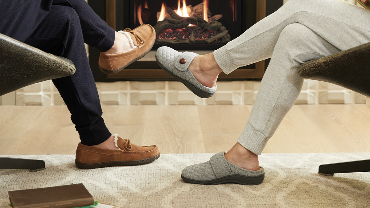 Why Wearing Slippers At Home Is Good For Your Feet | Vionic - Healthy  Footnotes
