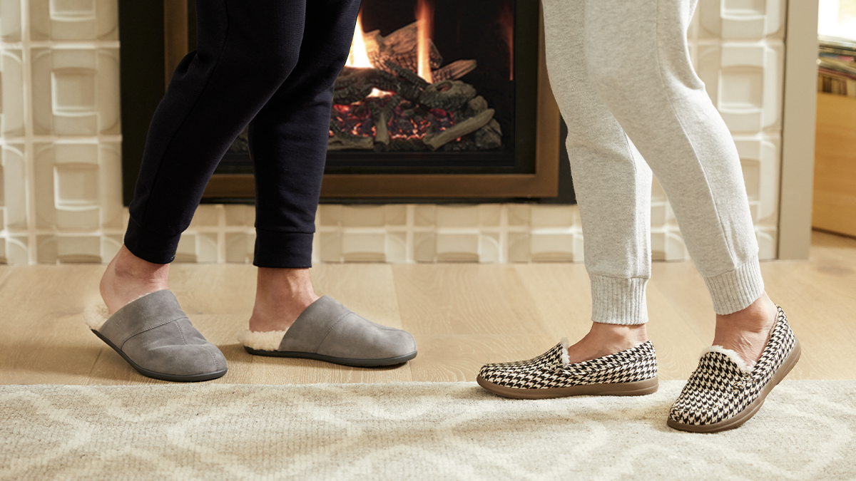 Why Wearing Slippers At Home Is Good For Your Feet   Vionic - Healthy  Footnotes
