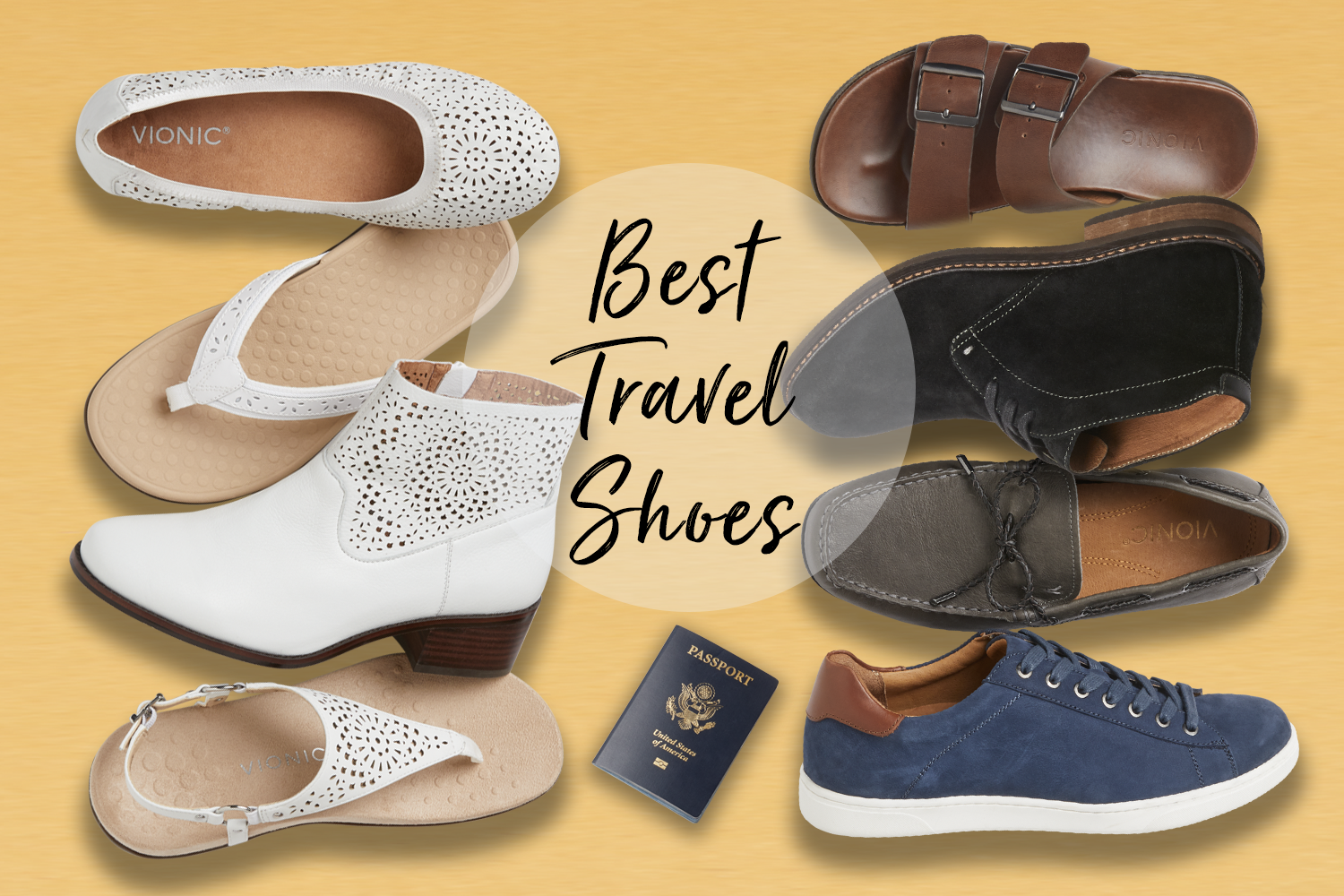 Best Travel Shoes for 2020 I Vionic Shoes