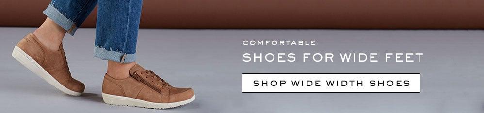 shop wide width shoes